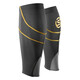 """Skins Unisex MX Calf Tights Black/Yellow"""